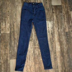 BDG Dark blue jeans